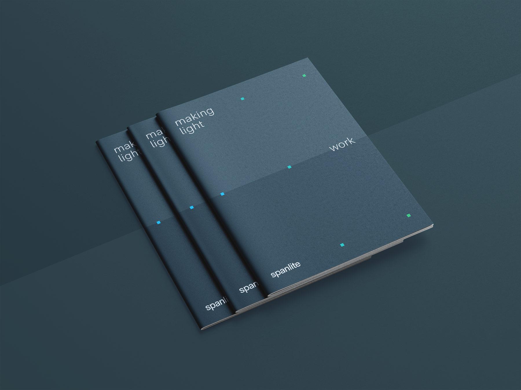 Spanlite Brochure covers