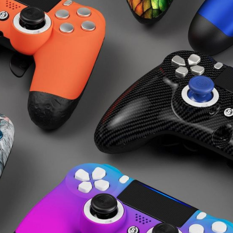 SCUF is a creator of high-performance gaming controllers, providing customized gaming controllers. Built to specification, SCUF controllers offer a number of functional and design features custom built to increase hand use and improve gameplay.