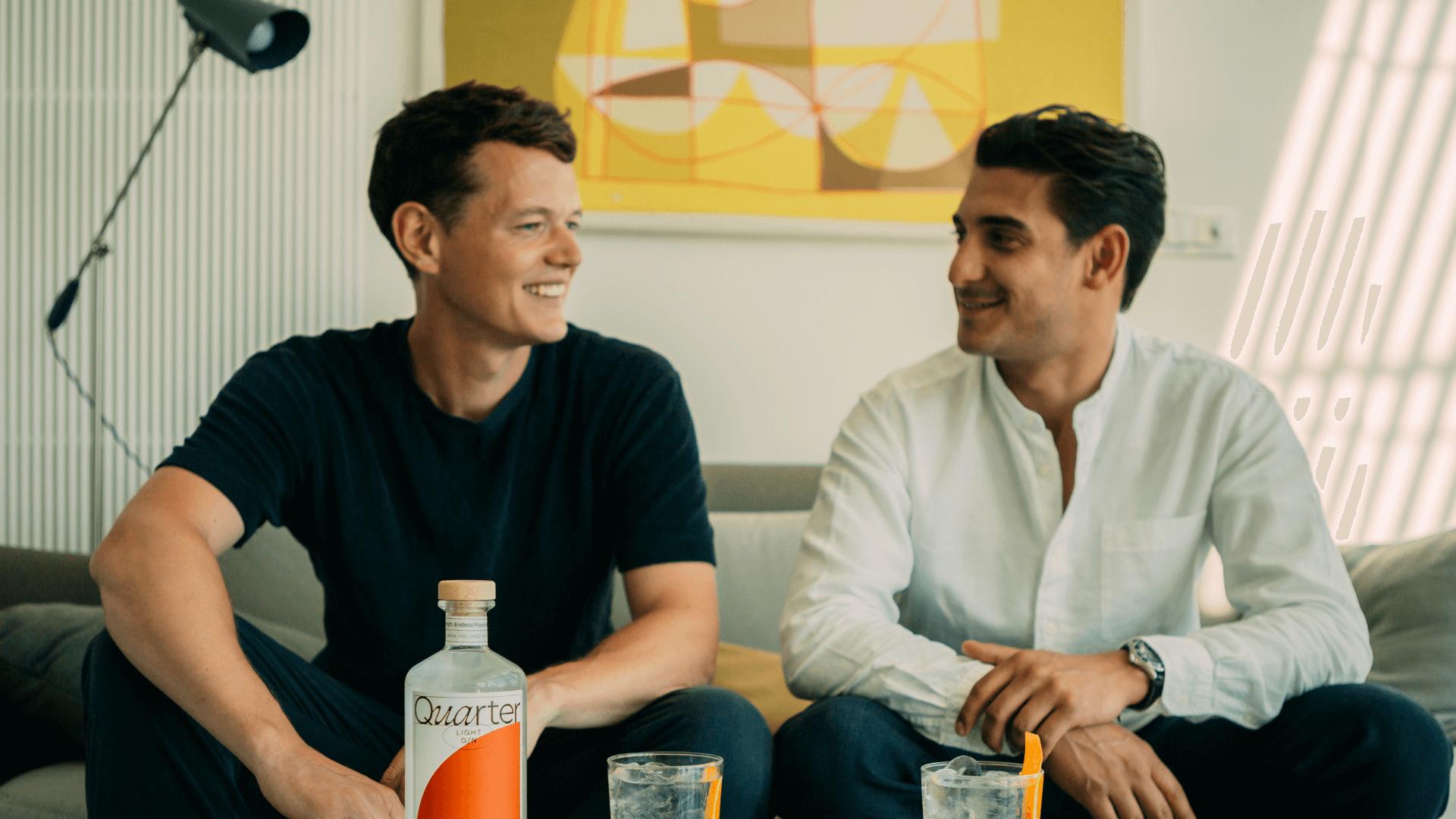 Meeting Fabian Clark, co-founder of Quarter Gin