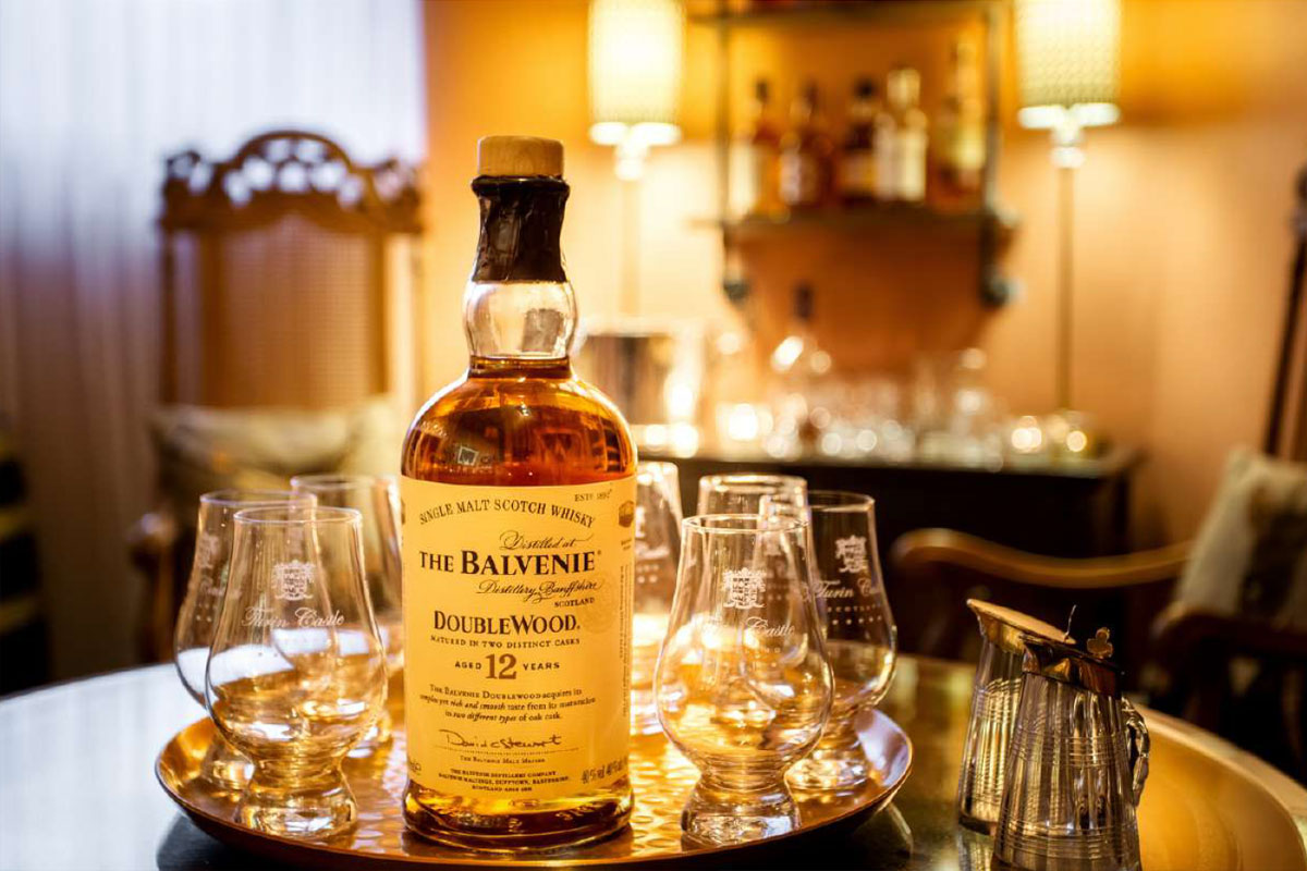Turin Castle Scotland Whisky Tasting