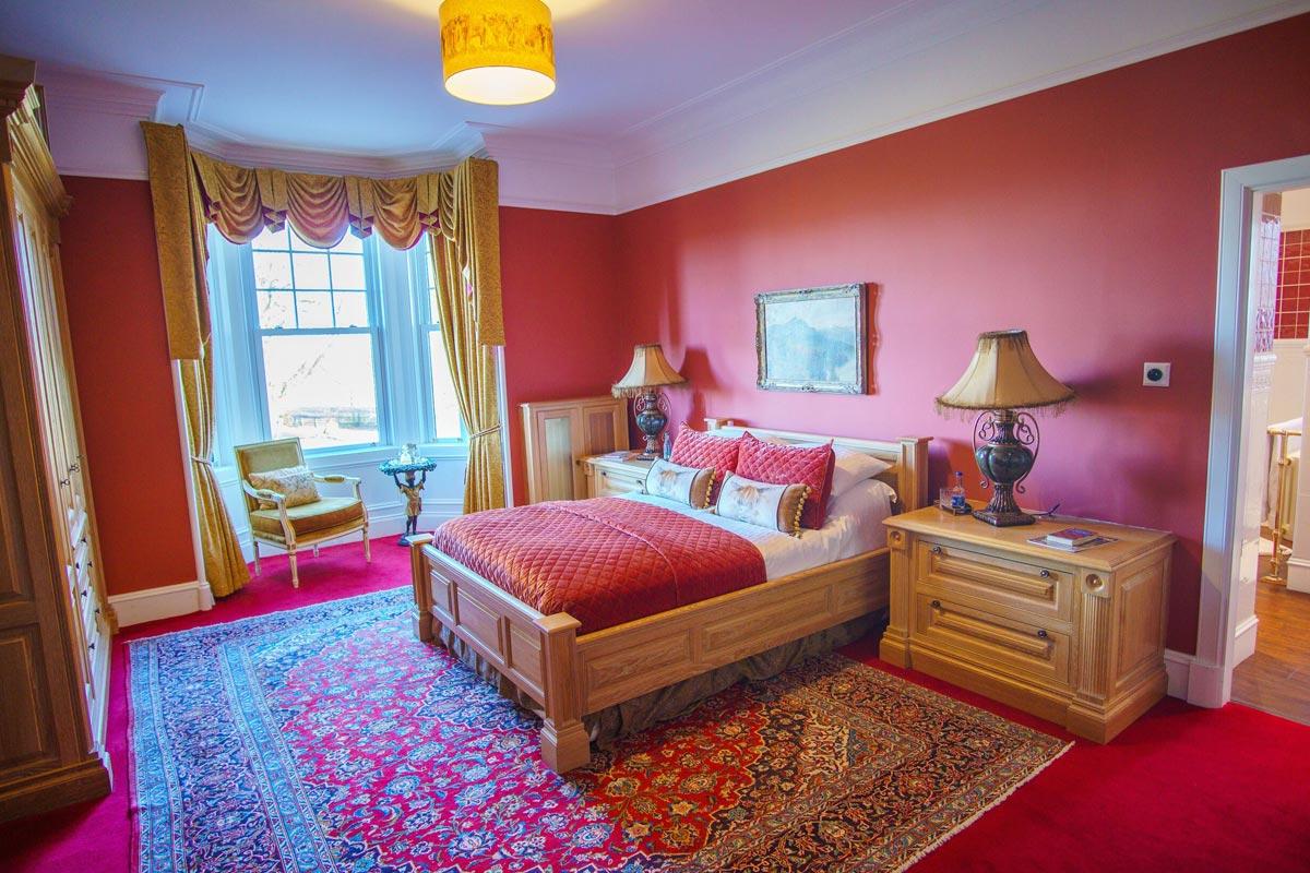 Turin Castle Scotland Glenfiddich Suite