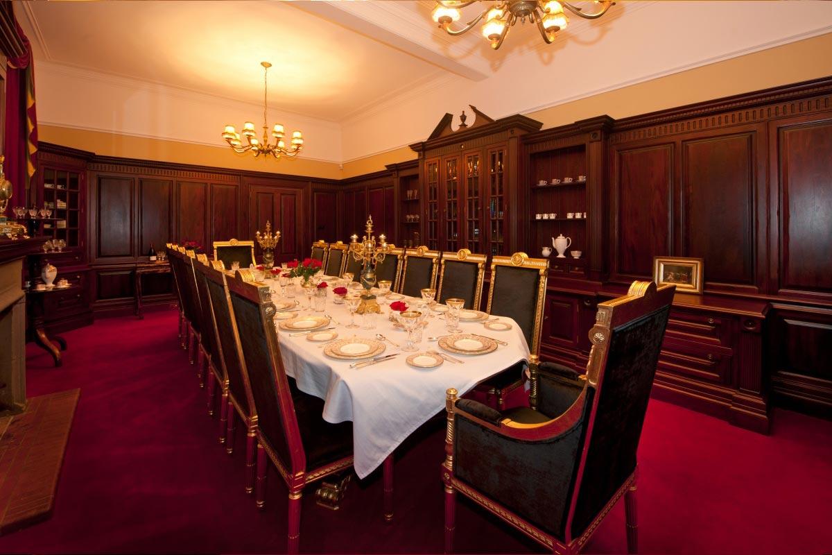 Turin Castle Scotland Dining Room