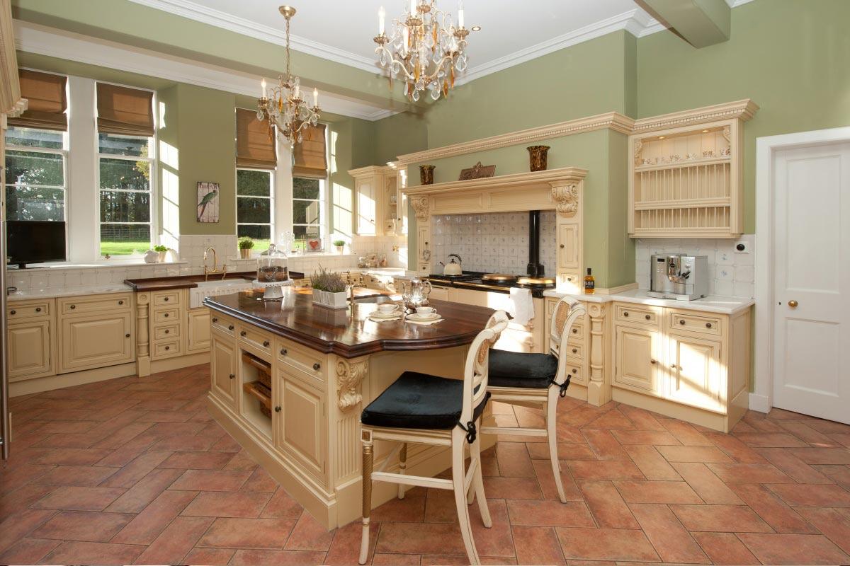 Turin Castle Scotland Guest Kitchen