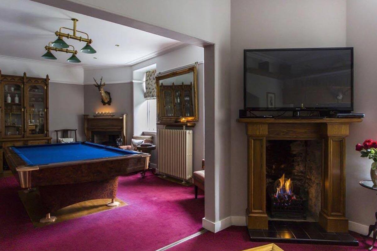 Turin Castle Scotland Games Room