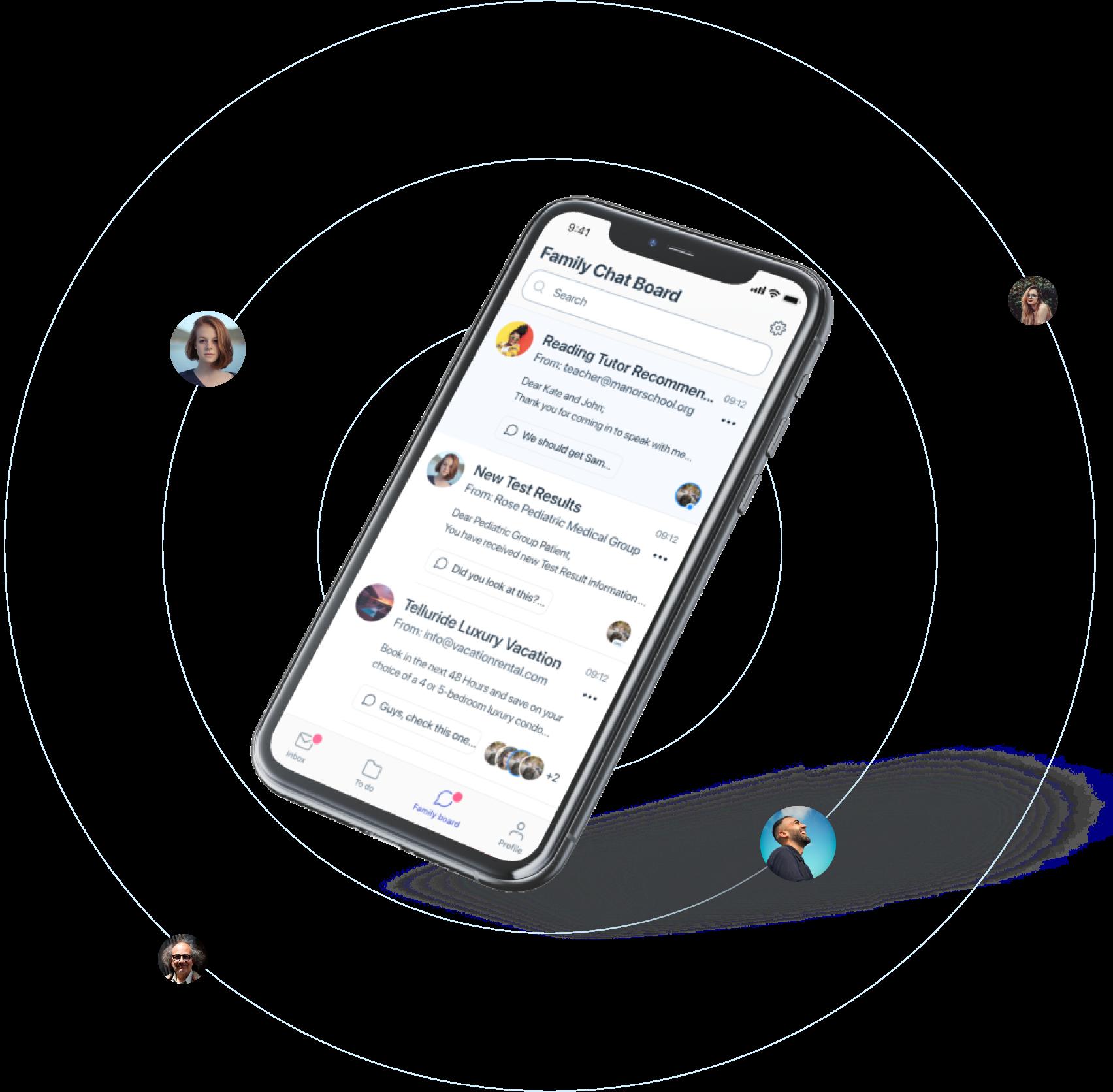 Markus app - slack for families