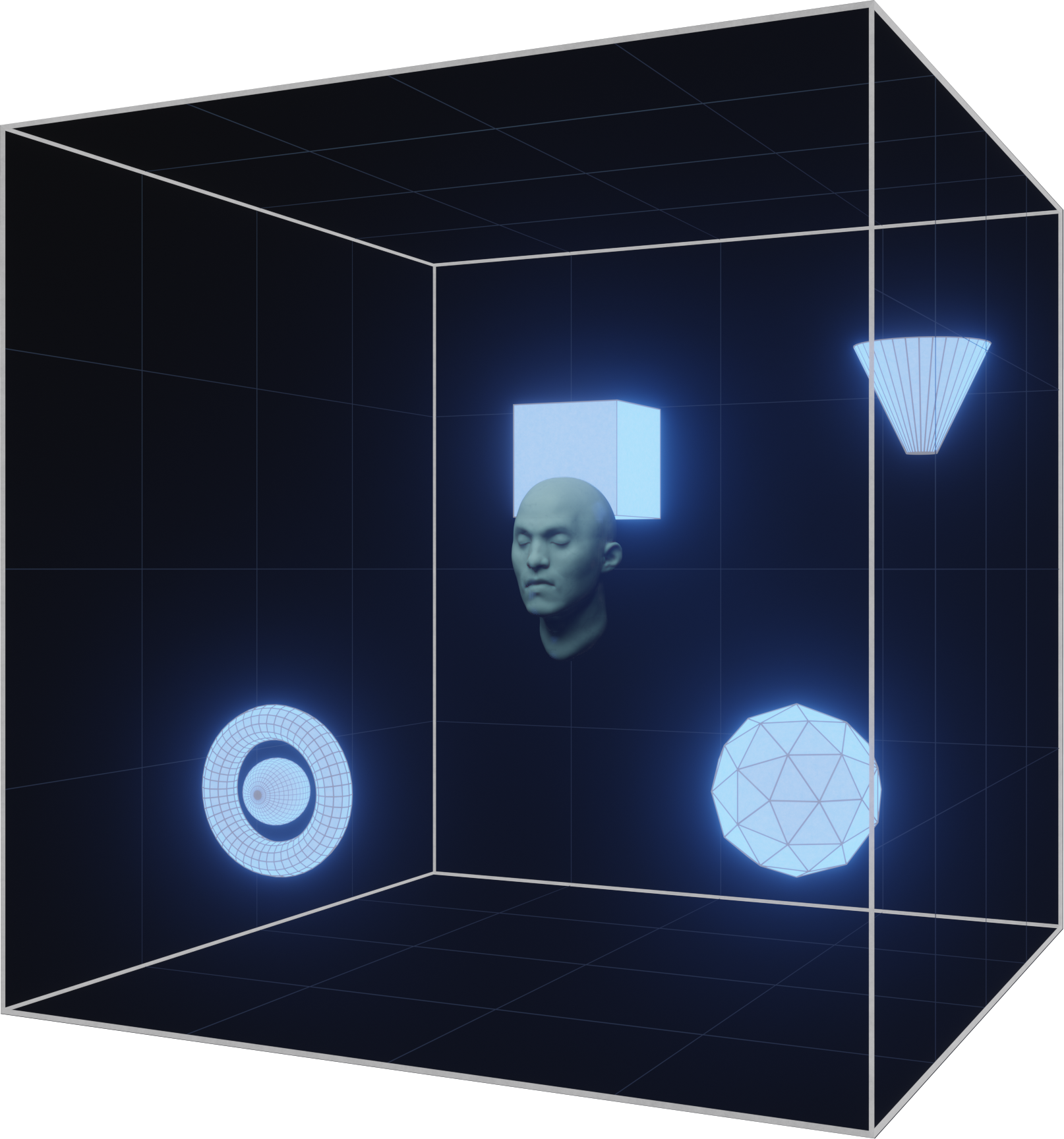 Roundhead spatial audio.