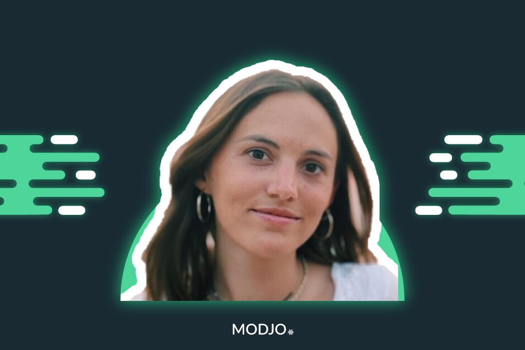 recrutement modjo portrait Flore Carron de la Carrière account manager