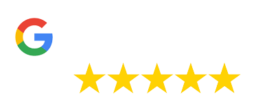 Google My Business reviews badge showing 5 star rating for WebSuitable
