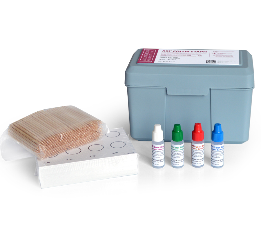 ASI's Color Staph Kit, the newest product from Arlington Scientific.