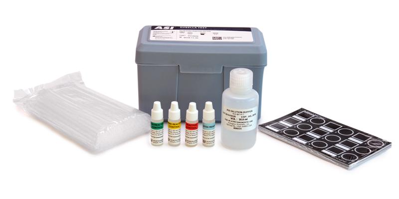 Rubella test (known as German Measles).