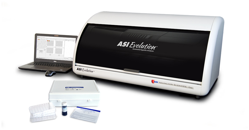 The ASI Evolution Automated Syphilis Analyzer, changing the way syphilis testing is done.