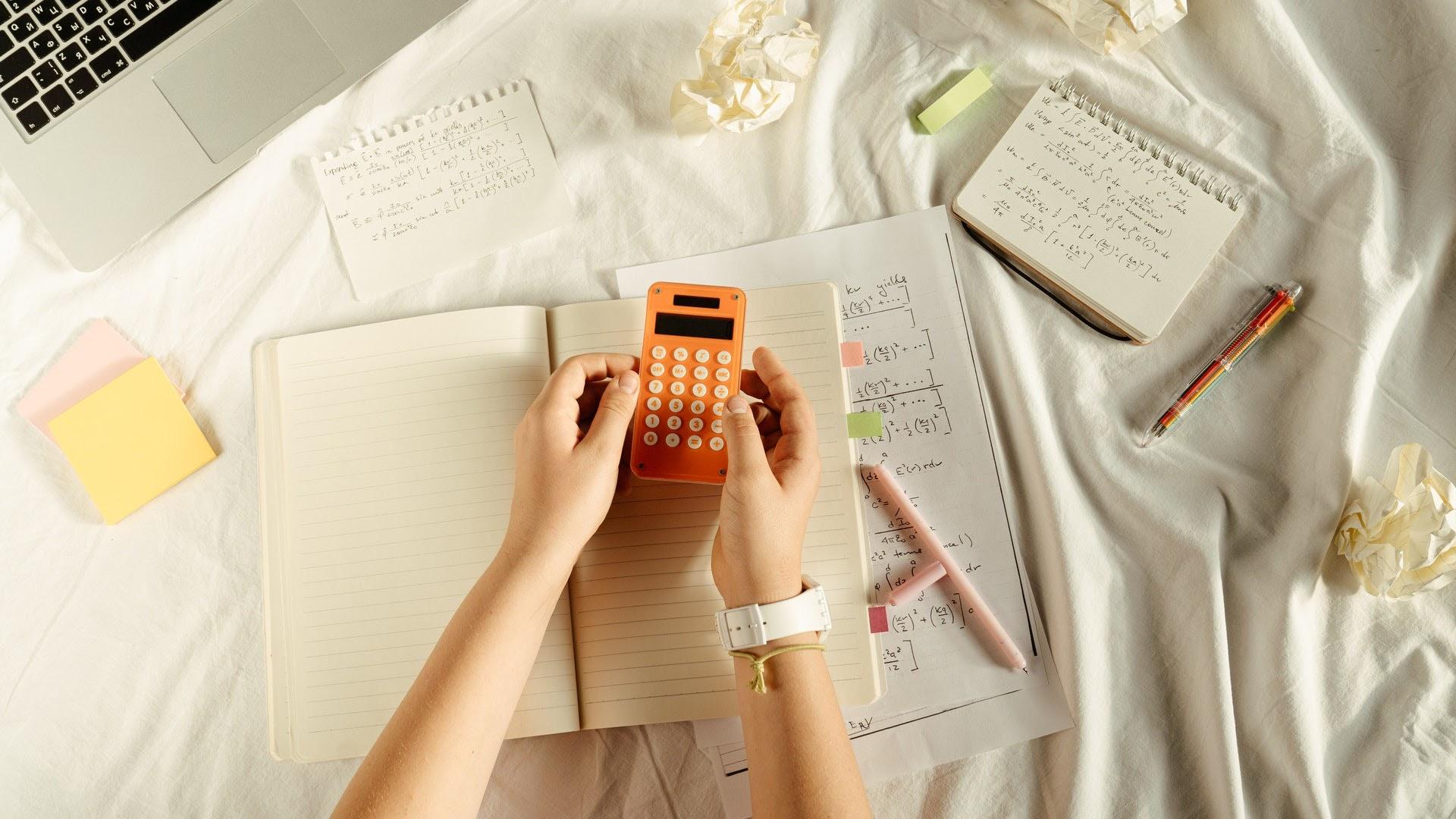 solving math using calculator