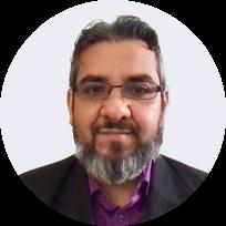 An image of a Learner tutor, Sanjay