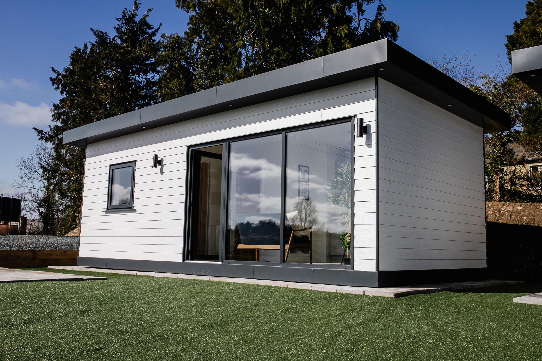 Modular Building as extra living space in a garden