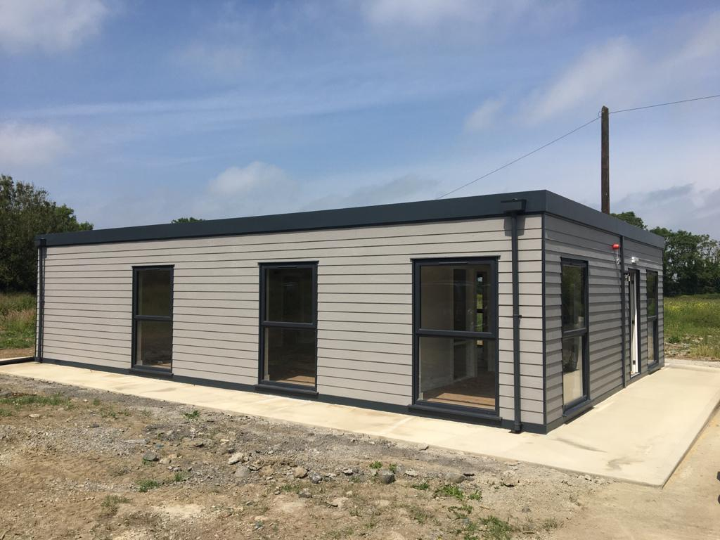 A Modular office unit recently built by Arch-I Modular Solutions.
