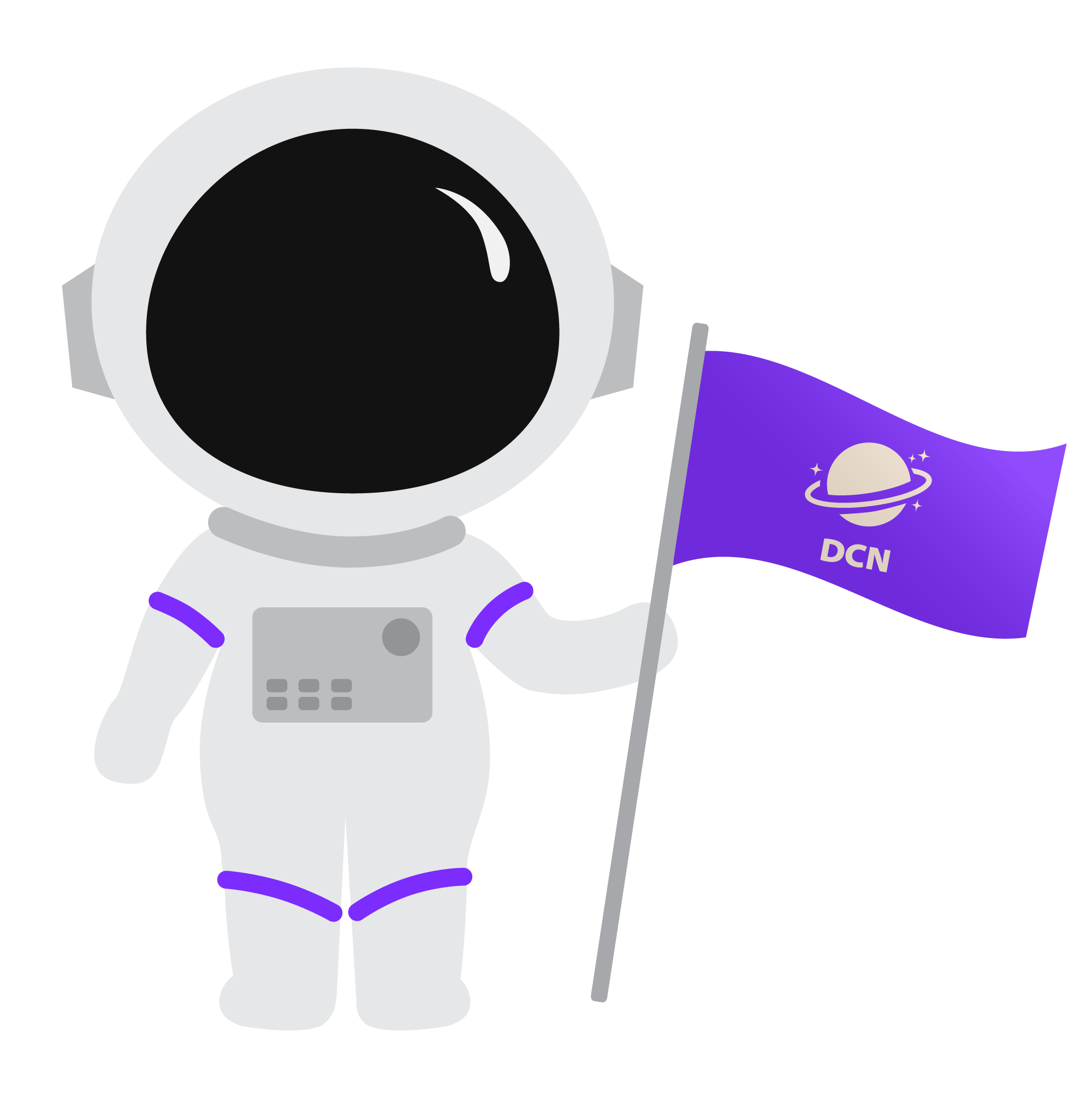 astronaut representing DCN
