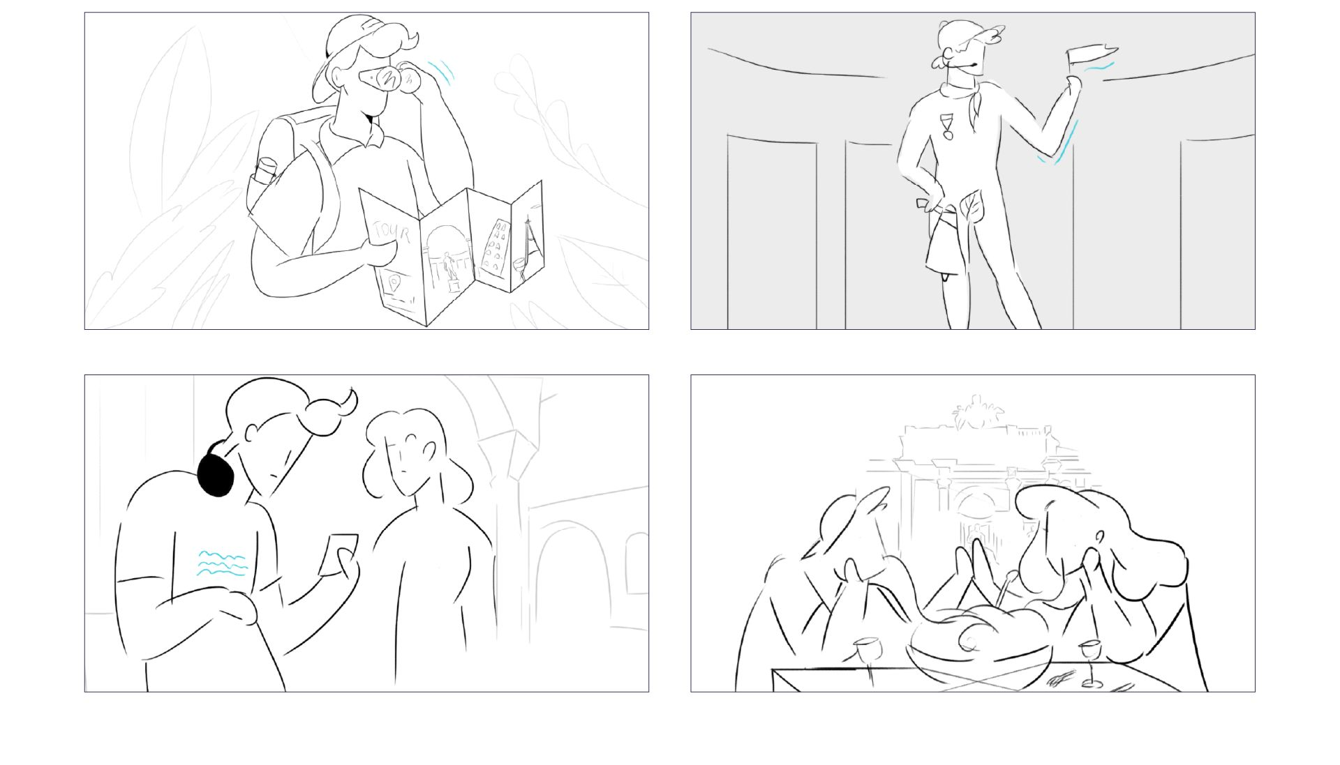 tourbuds sketches