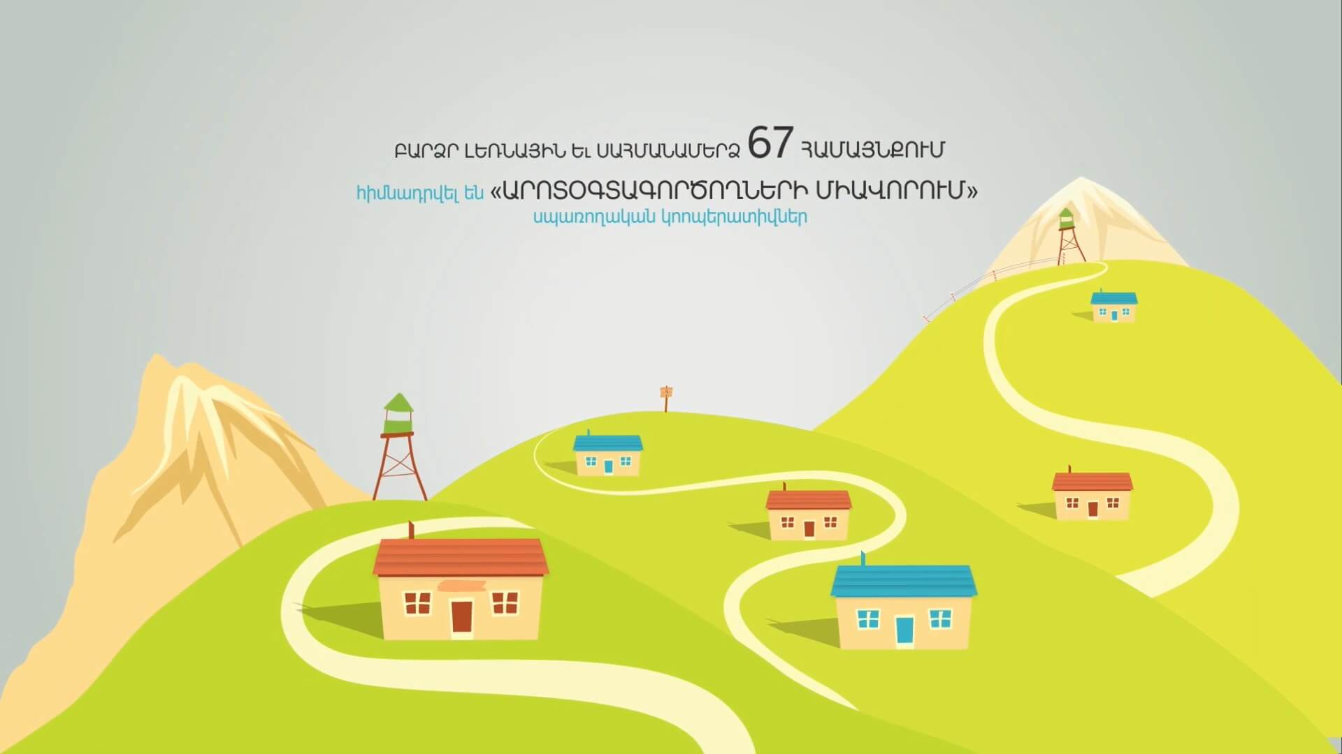 Armenian Agricultural Development Report animation