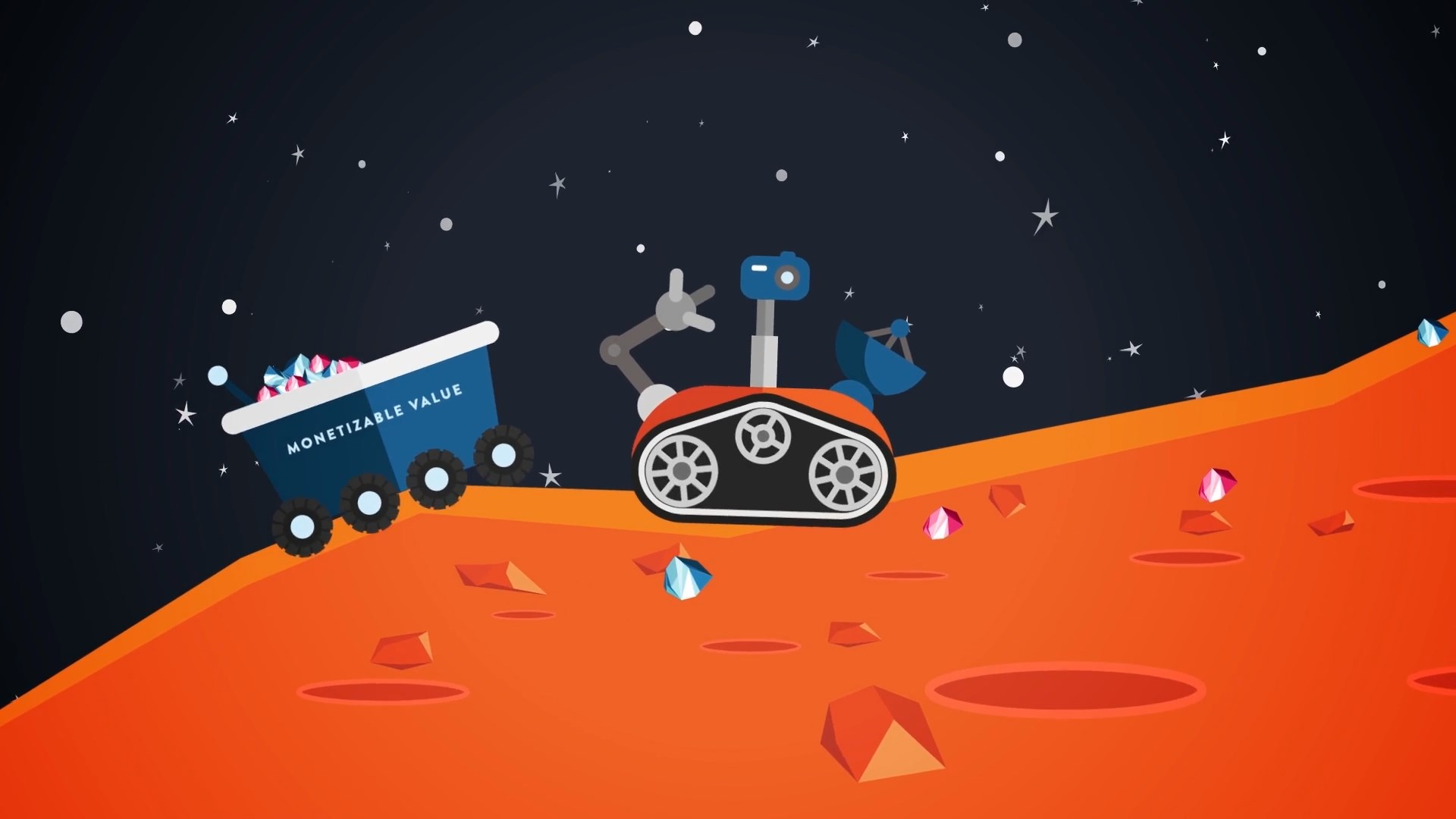 space machine animation
