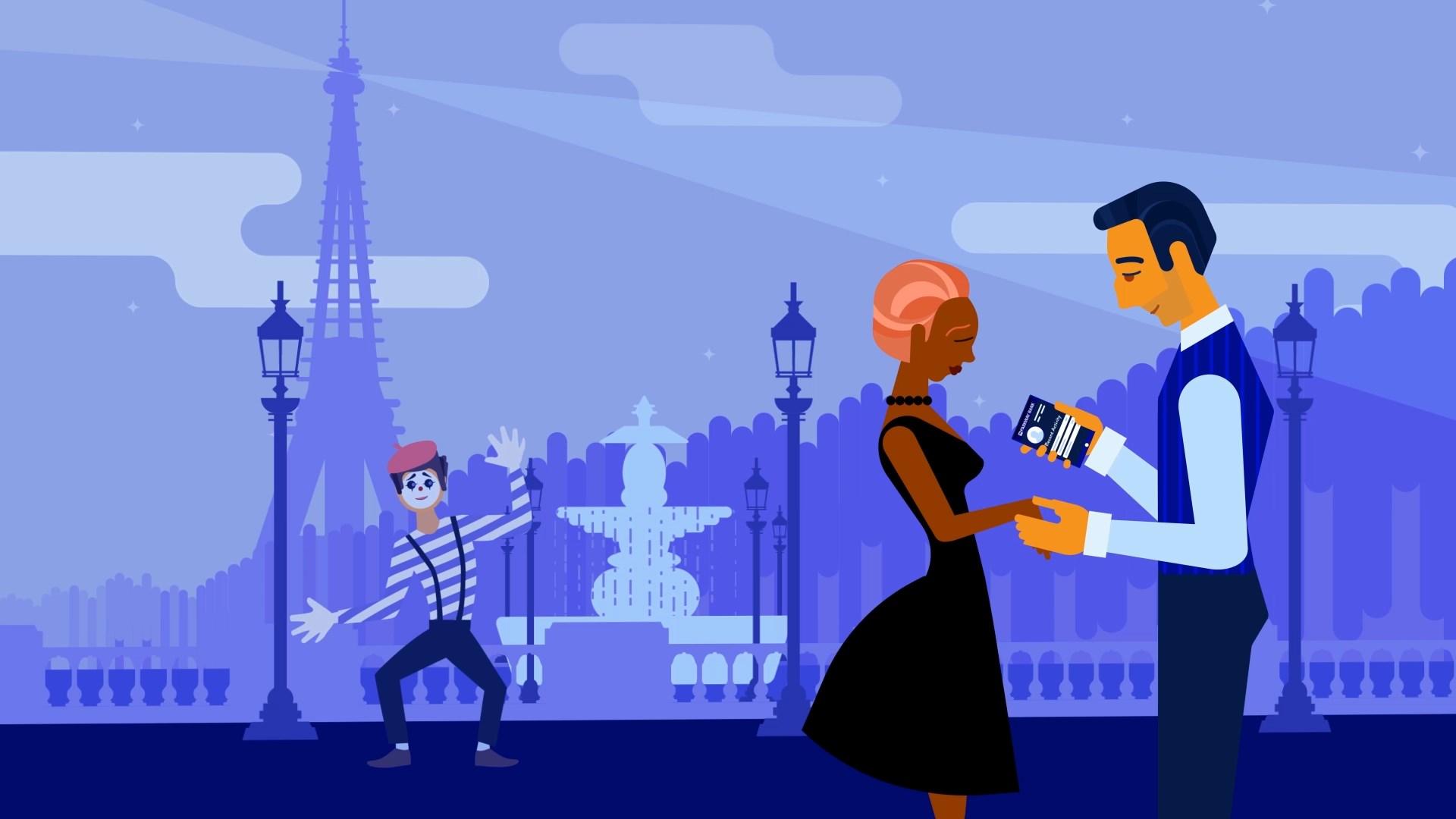 animated app explainer video