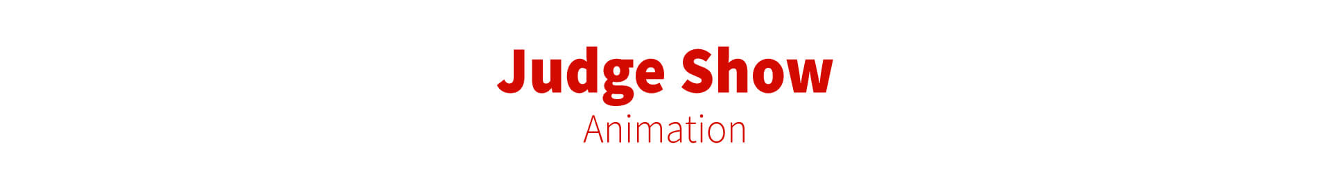 judge show