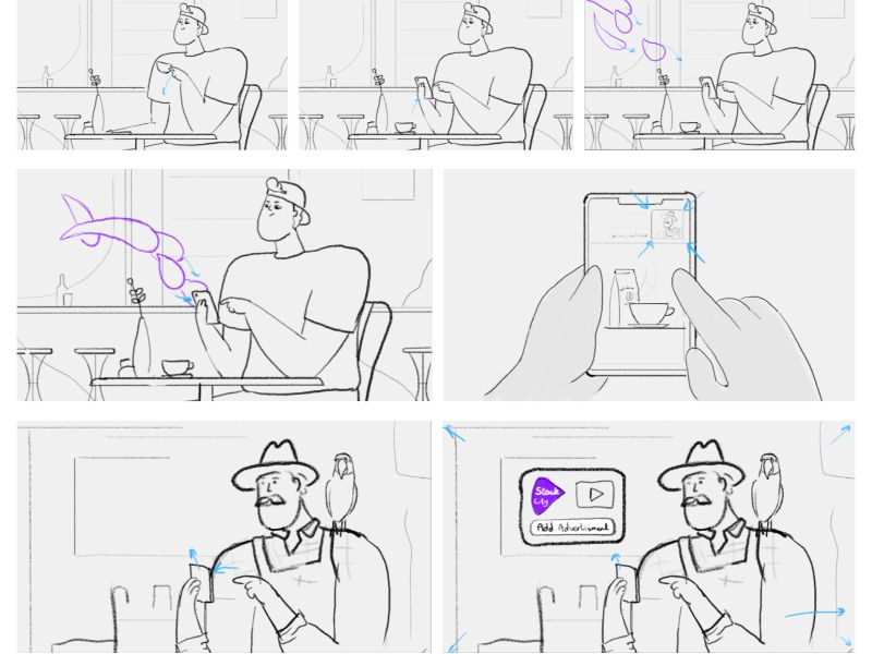 explainer video storyboard