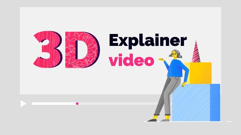 3D Explainer Video