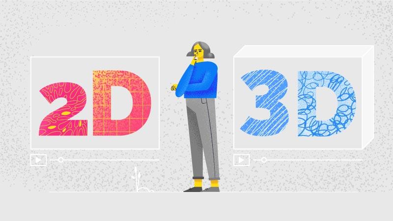 2d explainer video vs 3D Explainer Video