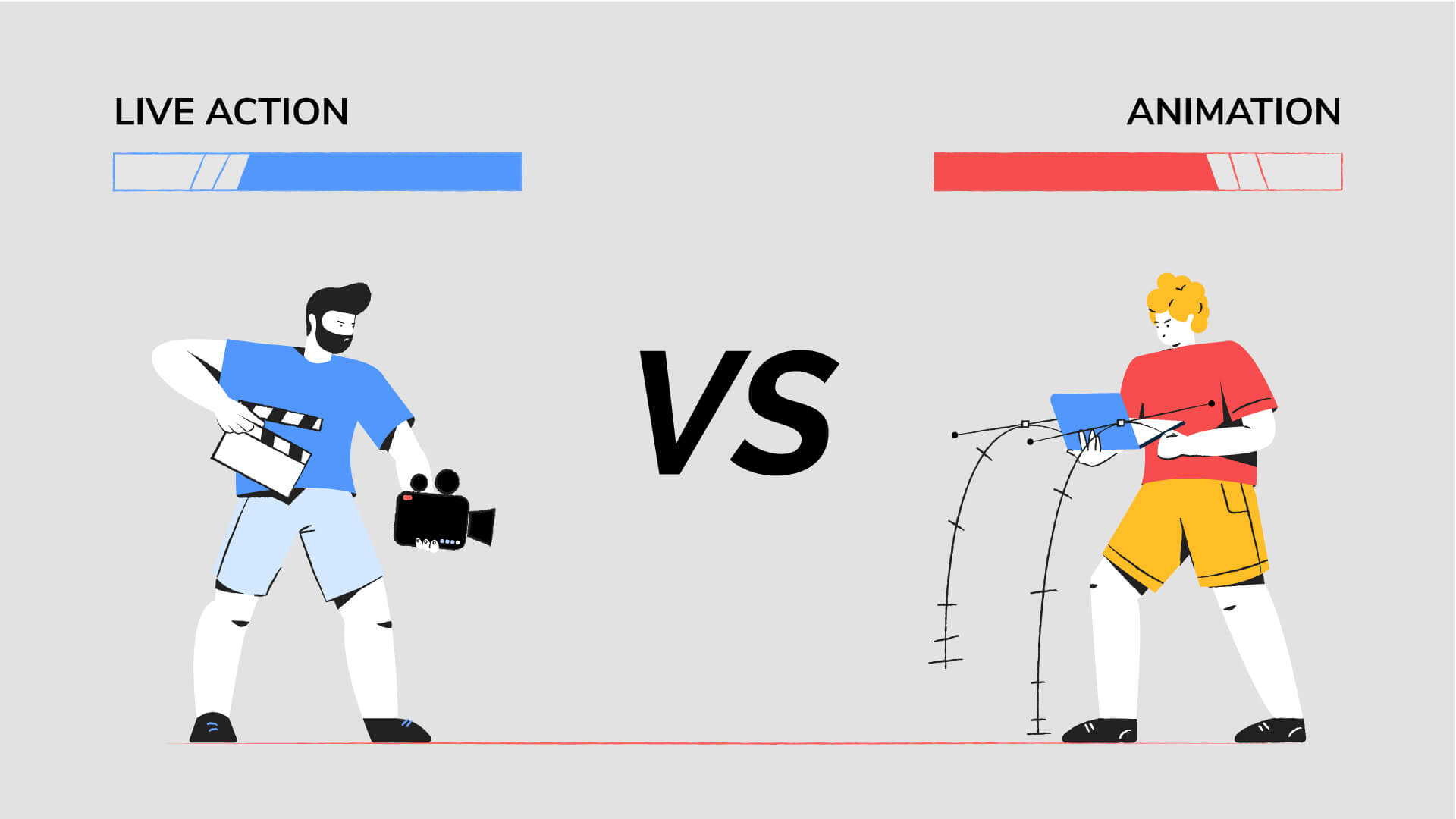 Animation Vs. Live Action: Which is Better for Your Business Video