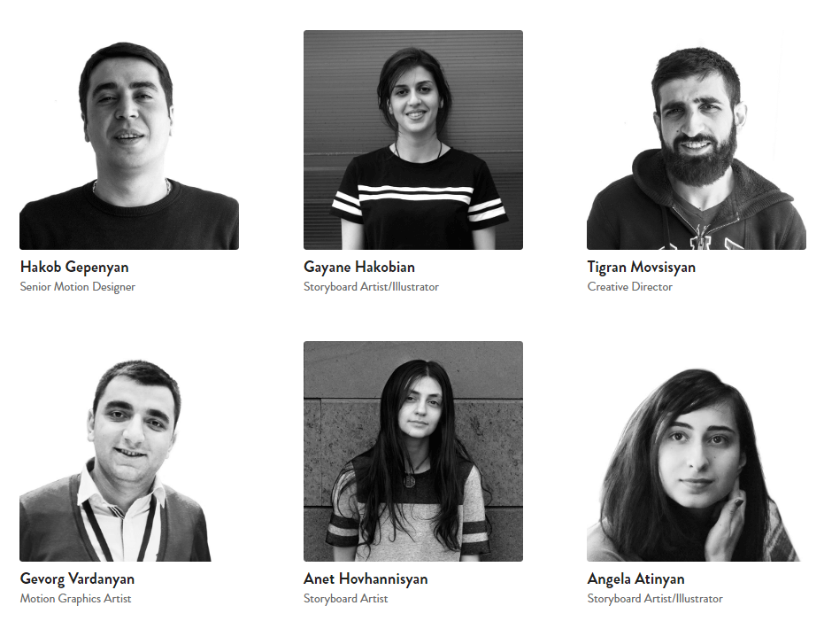 animation company team