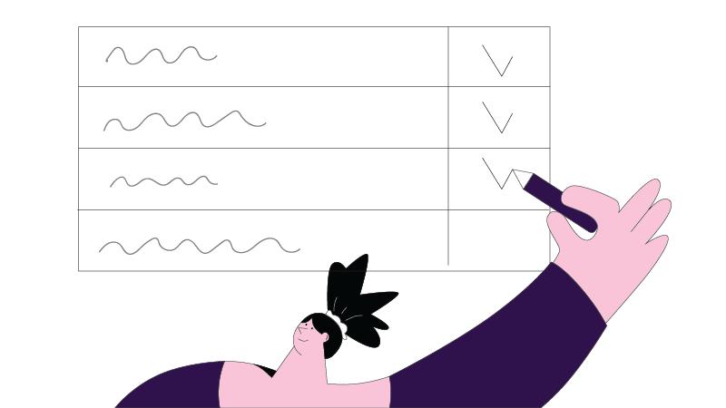 checklist of animation studio production