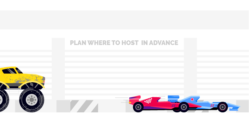plan where to host business video