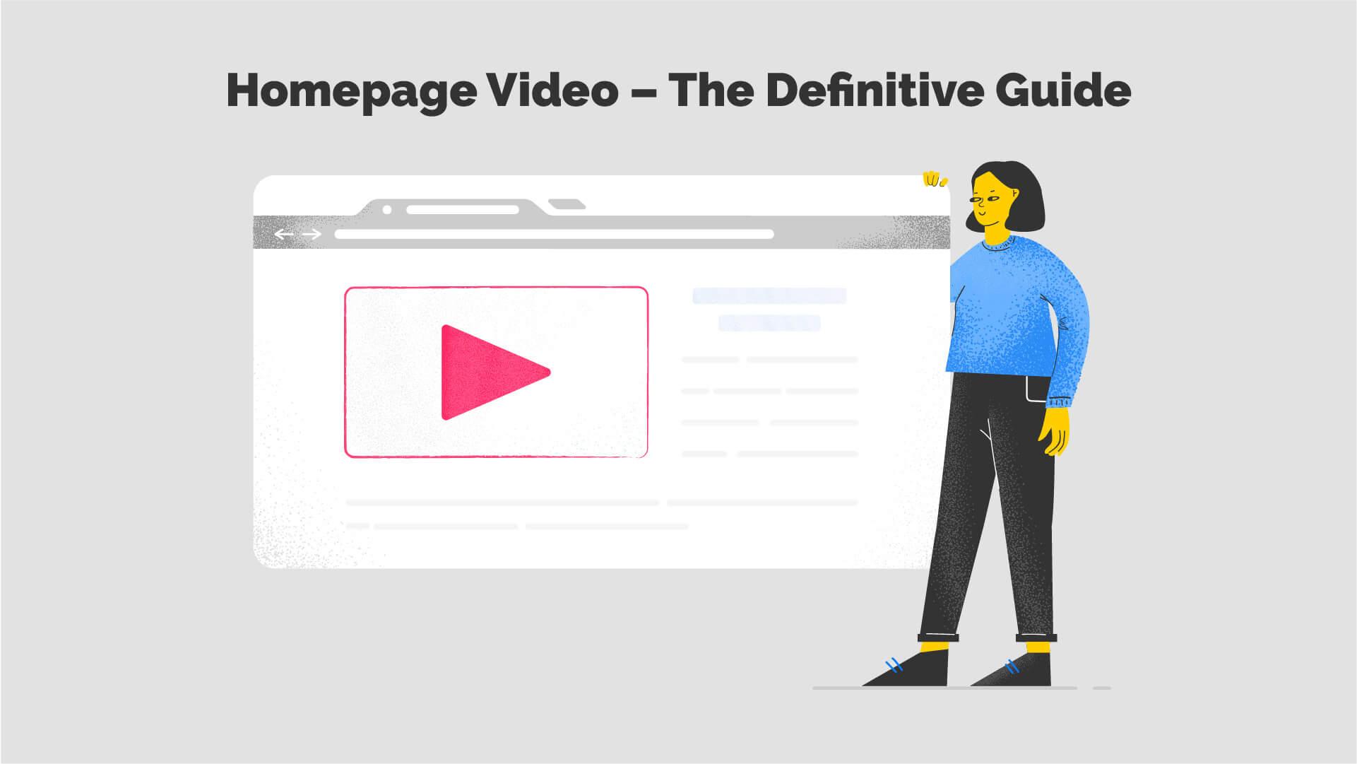 Website Homepage Video