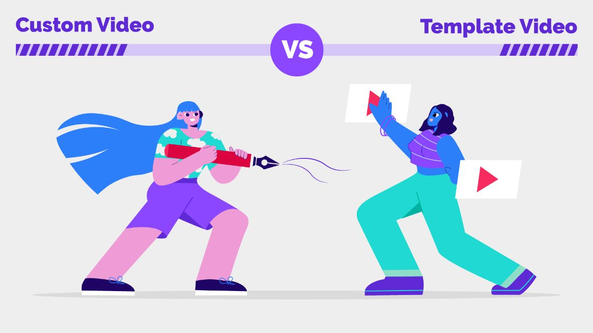 Custom Video vs Template Video