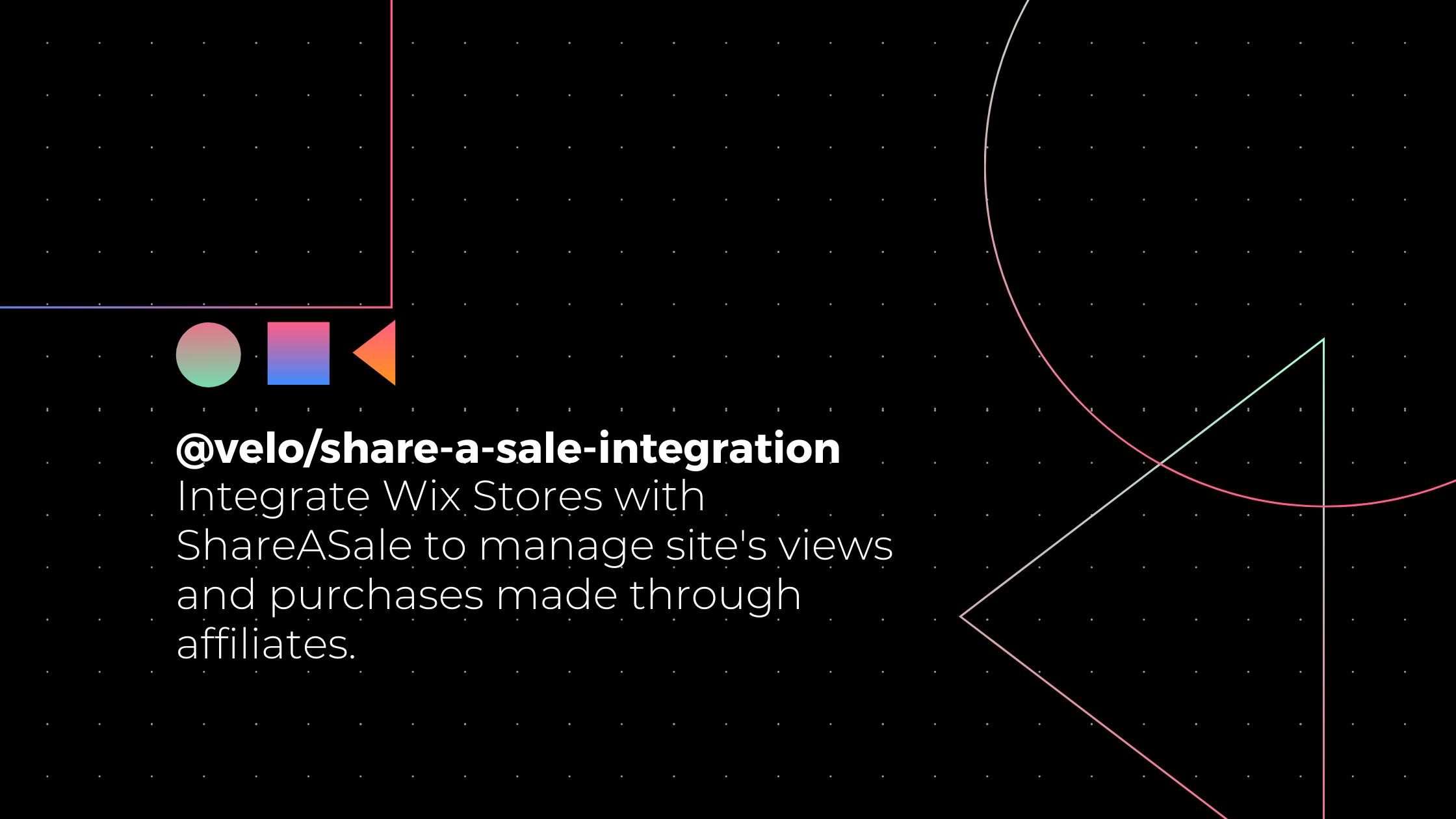 @velo/share-a-sale-integration