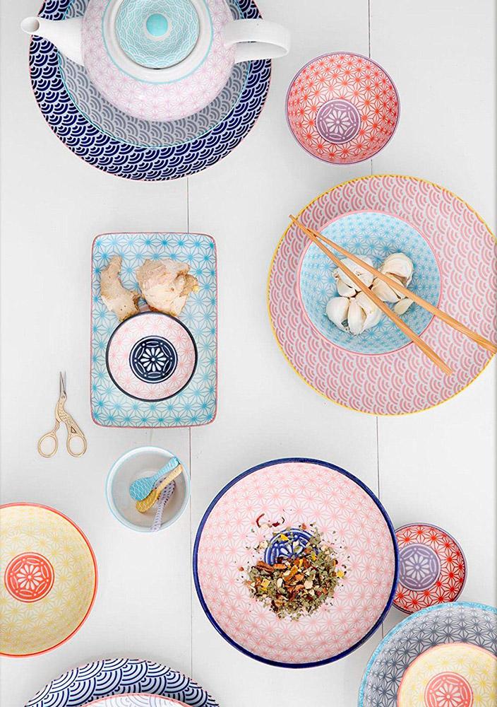 plato trinche El Libro Amarillo - Star Wave Collection, Tokyo Design Studio
