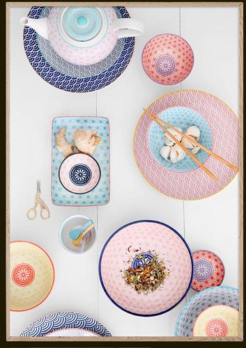 El Libro Amarillo - plato trinche Star Wave Collection, Tokyo Design Studio