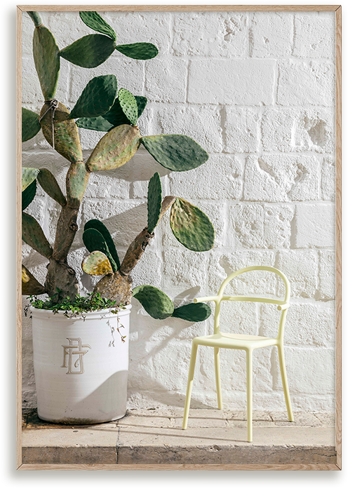 El Libro Amarillo - silla Generic C diseñada por Philippe Starck, Kartell