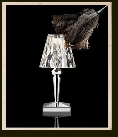 El Libro Amarillo - 3_lámpara de mesa Battery (100% recargable) diseñada por FerruccionLaviani, Kartell