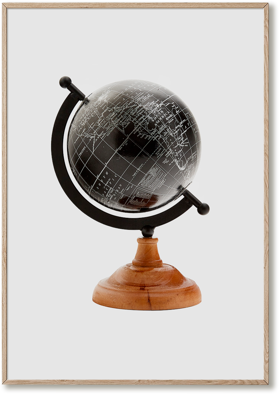 El Libro Amarillo - globo terráqueo decorativo en madera, ITEM International