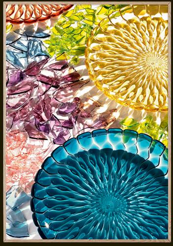 El Libro Amarillo - platones JELLY por Patricia Urquiola, Kartell