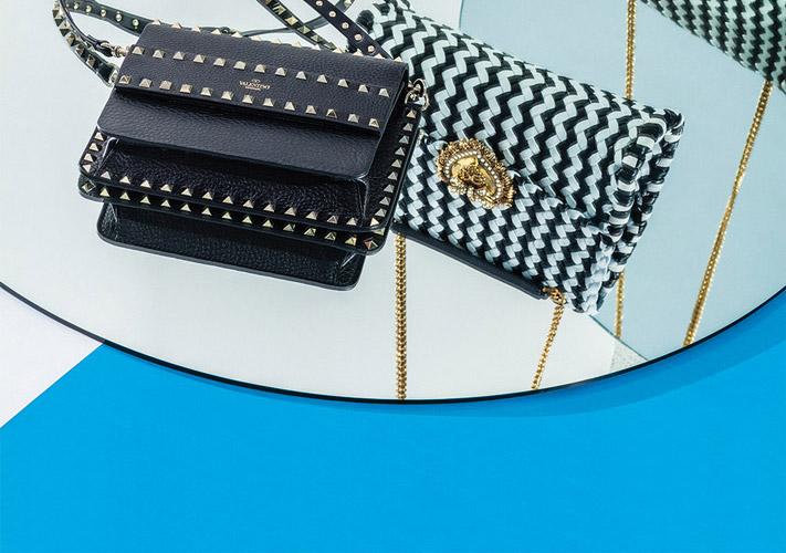 El Libro Amarillo - bolso tejido Dolce & Gabbana _ bolso rockstud Valentino