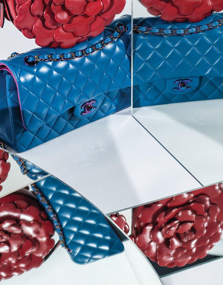 El Libro Amarillo -bolso Chanel _ bolso atelier (flor) Valentino