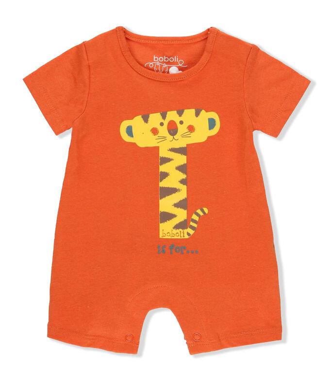 El Libro Amarillo - Mameluco con tigre Bebé BOBOLI