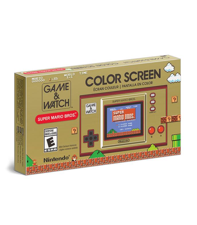 El Libro Amarillo - Consola Nintendo Game & Watch Super Mario Bros Edición Especial NINTENDO