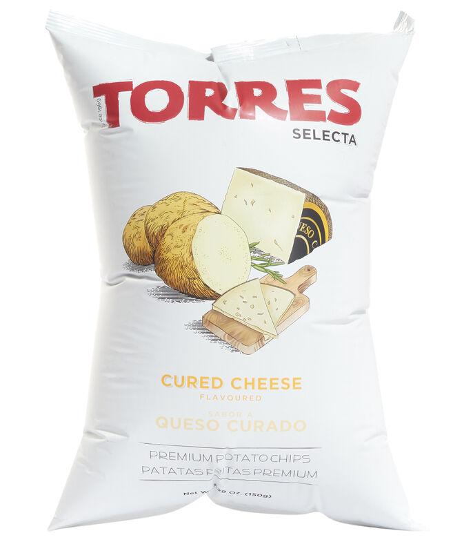 El Libro Amarillo - Torres Selecta Cured Cheese Flavoured Potato Chips, 150g TORRES SELECTA