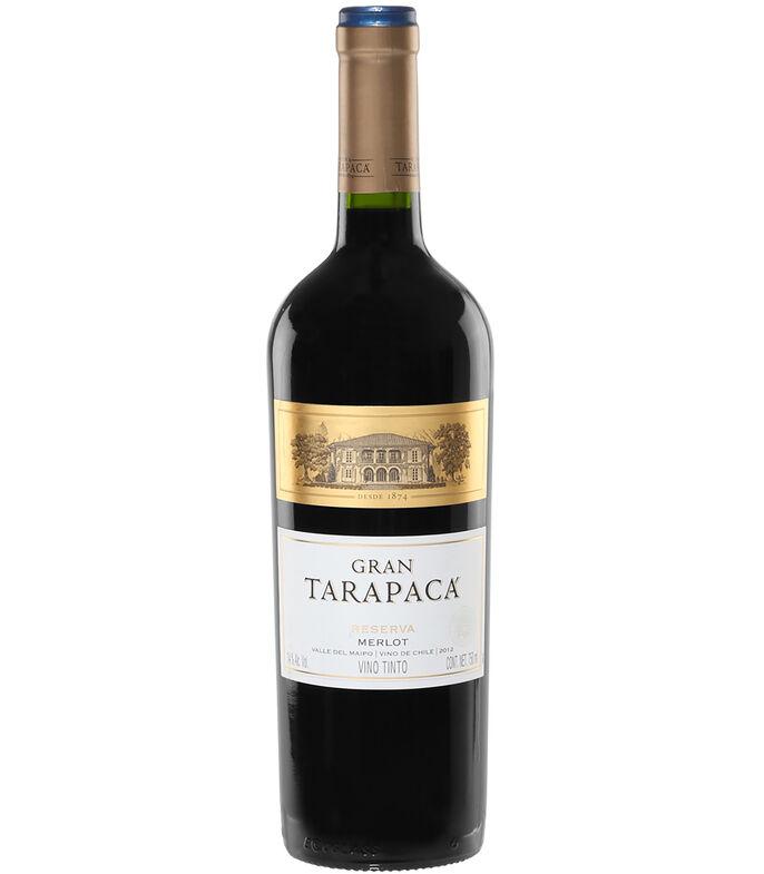 El Libro Amarillo - Vino Tinto Merlot, 750 ml GRAN TARAPACÁ
