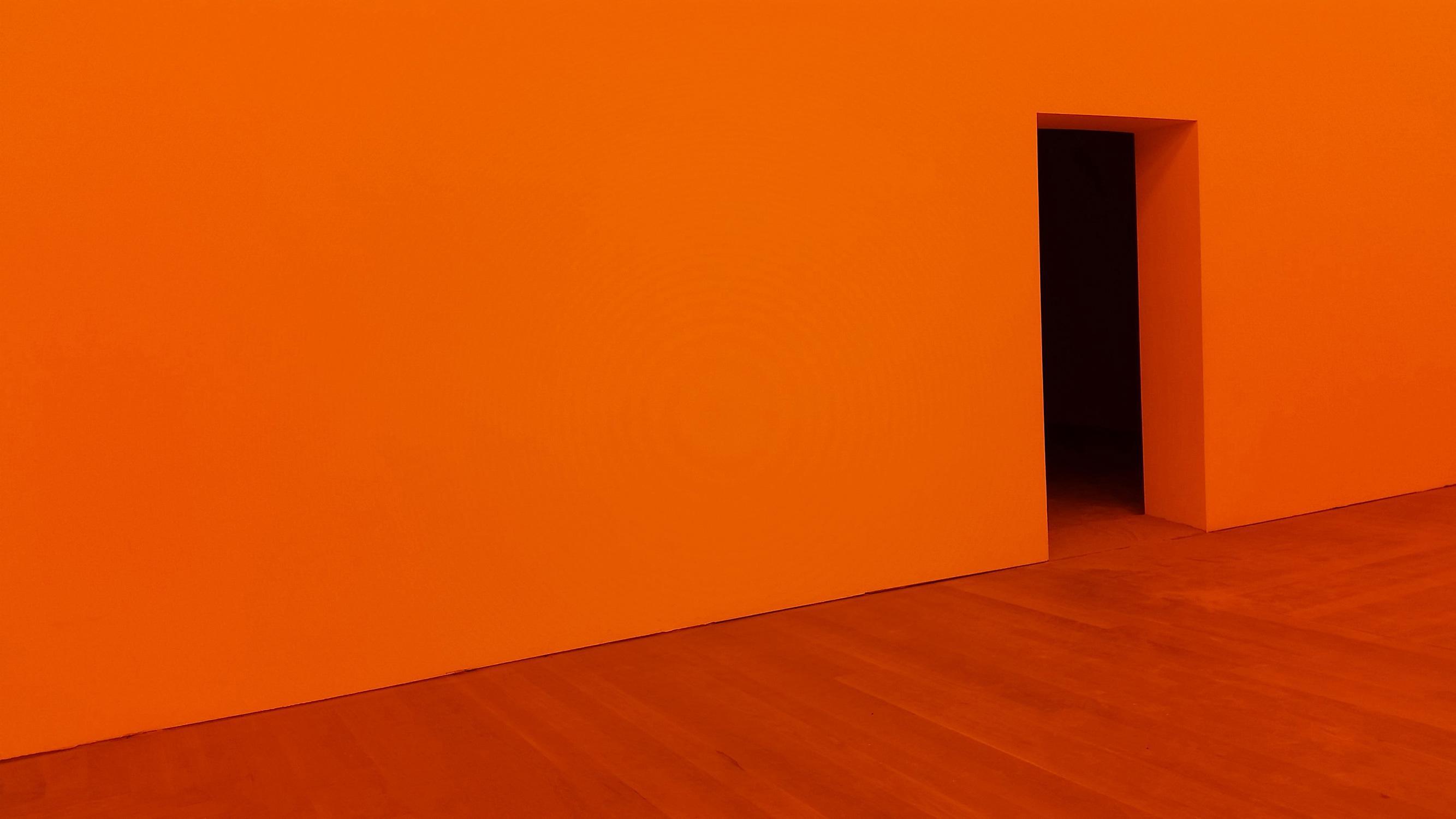 El Libro Amarillo Tendencias de Color Primavera 2021 Mandarina puerta de galería de arte