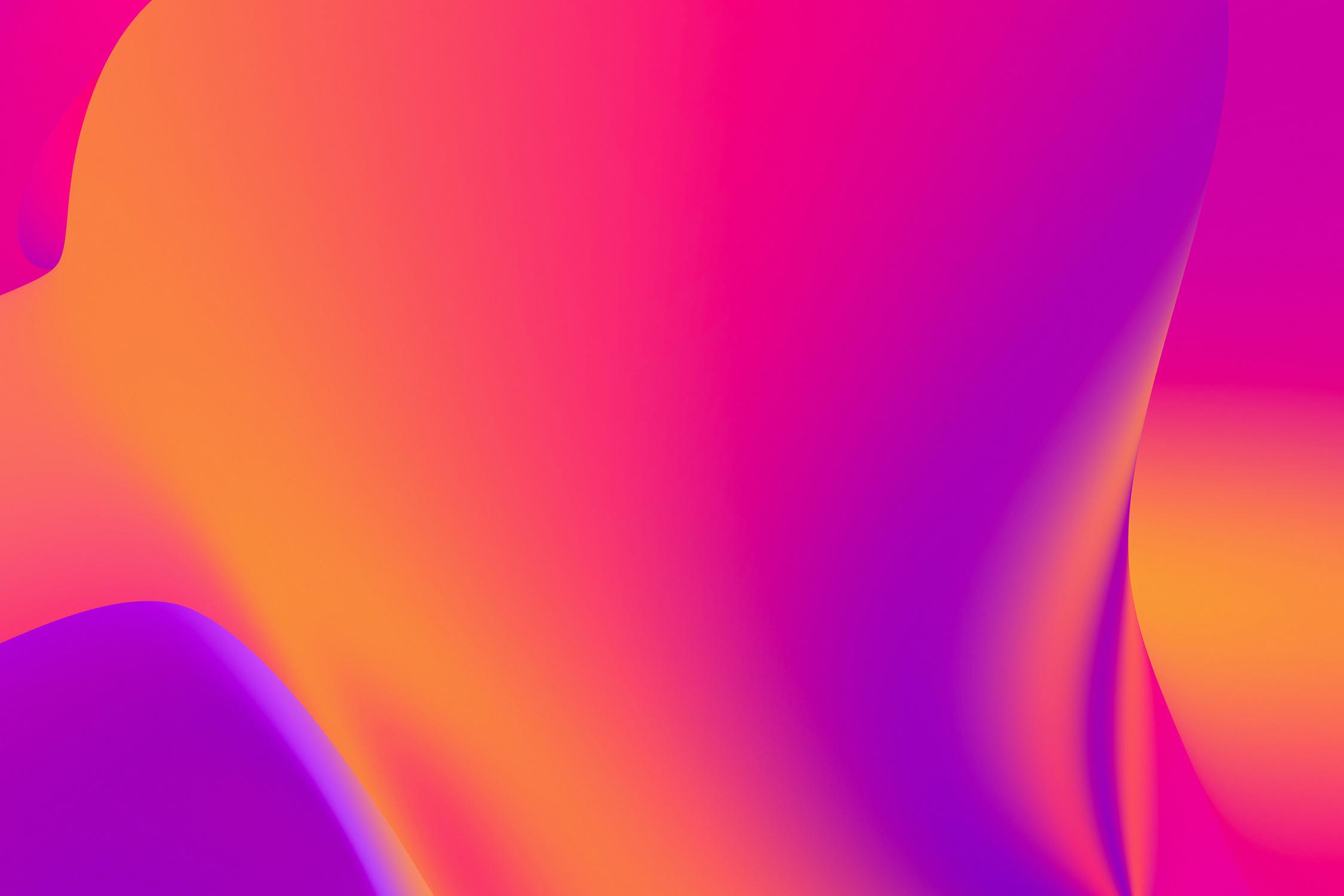 El Libro Amarillo Tendencias de Color Primavera 2021 Pastel-Neón degradado de colores neon