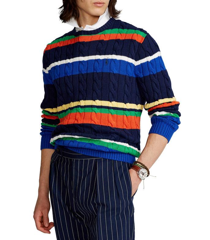 Suéter cuello redondo con franjas Hombre POLO RALPH LAUREN